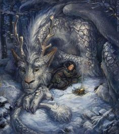 Fairies, dragons and other mythological creatures su We Heart It.