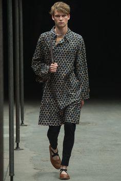 Dries Van Noten Spring 2015 Menswear Collection Slideshow on Style.com