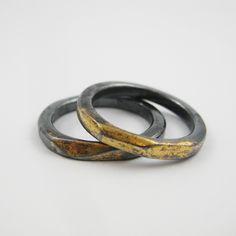 keum-boo rings - Nina Dinoff