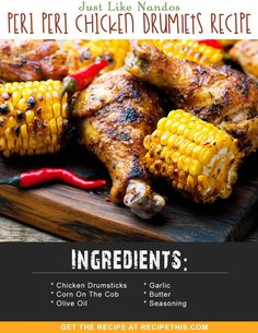 Airfryer Recipes | Just Like Nandos Peri Peri Chicken Drumlets Recipe from RecipeThis.com