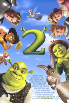 Shrek and princess fiona return from their honeymoon to find an invitation to visit. Shrek has rescued princess fiona, got married, and now is time to meet the parents. Shrek Film, Shrek 2, Fiona Shrek, Eddie Murphy, Cameron Diaz, Film Disney, Disney Movies, Disney Pixar, 2 Movie