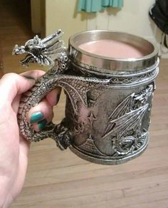 I need this cup. Come on how awesome is this! As an Eragon fan I feel obliged to purchase this.