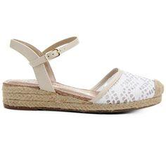 Compre Sandália Via Marte Espadrille Corda Off White na Zattini a nova loja de moda online da Netshoes. Encontre Sapatos, Sandálias, Bolsas e Acessórios. Clique e Confira!