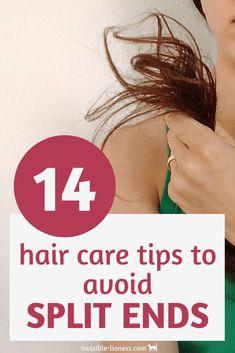 The best hair care tips to avoid split ends