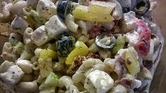 Tupun tupa: Tsatsiki-feta-pastasalaatti