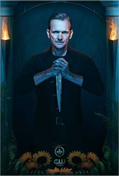 The Originals character poster of Mikael, Sebastian Roche!