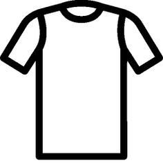 easy coloring pictures shirt - Google Search