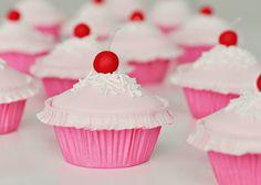 Rosie's Pinkalicious Cherry Cupcakes