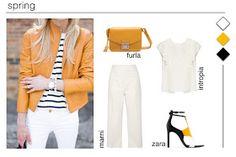 Bela combinação de cores para a primavera, não concordam?   Fica a sugestão para esta sexta feira.     Bom fim-de-semana!