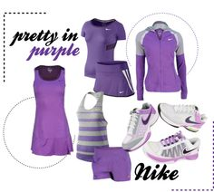 """Pretty in Purple"" by tennisexpress on Polyvore"