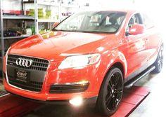 Audi #audi #car #cars #auto #automobile #automotive #whip #ride #red #rims #custom #thursday #tbt #follow #like #repost #prestigeautotech
