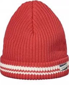 9687f84b New Scotch and Soda AMS Blauw Knitted Beanie Red 100% Cotton #fashion  #clothing