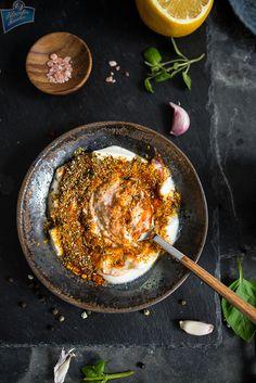 Marynata jogurtowa do mięsa Iron Pan, Grilling, Food And Drink, Salad, Ethnic Recipes, Kitchen, Cuisine, Salads, Home Kitchens