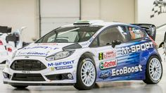 M-Sport unveils its 2015 WRC colour scheme  - WRC.com