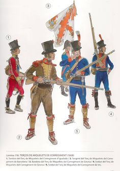 uniforms of the french army in spain 1808 images Military Art, Military History, Military Fashion, Lead Soldiers, Toy Soldiers, Empire, Parade Rest, Army Uniform, French Army
