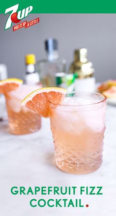 When it comes to creating a delicious mixed drink, nothing can compare to this Grapefruit Fizz Cocktail recipe. Not only is the pastel color and citrus flavor perfect for welcoming spring, the bubbly 7UP inside makes this boozy beverage easy to achieve. Plus, check out this collection of bar cart essentials for inspiration on ingredients to pick up at Target before your next party! Please drink responsibly. Must be 21 or older to consume alcohol.