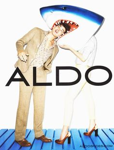 Dont know exactly why but I just love those ads from terry richardson in the ALDO campaign. It's fresh, it colourful without being too much... and it does put the shoes in front! love it!