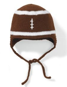 football baby hat
