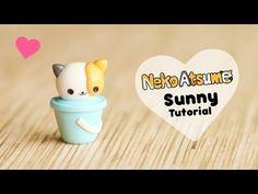 Neko Atsume Sunny & Bucket polymer clay tutorial
