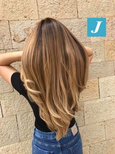 L'originale Degradé Joelle! #cdj #degradejoelle #tagliopuntearia #degradé #igers #musthave #hair #hairstyle #haircolour #longhair #ootd #hairfashion #madeinitaly #wellastudionyc