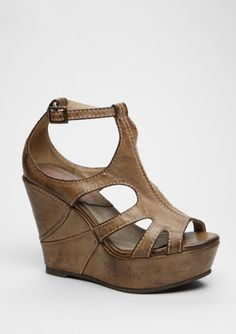 Big Buddha (Tan Bb-Fun) Wedge Sandal