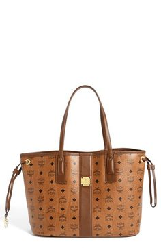 MCM 'Medium Liz - Visetos' Reversible Shopper available at #Nordstrom