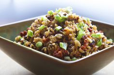 Rick Bayless | Easy Chorizo Rice with Lentils in rice cooker.  Try This.  Homemade chorizo?