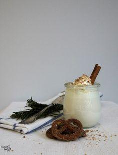 Heiße Chai-Milch mit selbstgemachten Chai-Sirup LAKTOSEFREI // Hot milk with homemade chai sirup LACTOSEFREE