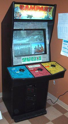Gauntlet arcade cabinet | The Arcade is on Fire | Pinterest ...
