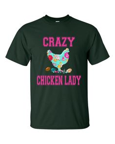 Crazy Chicken Lady Short sleeve t-shirt