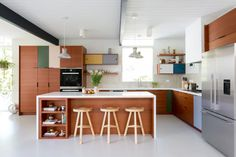 These Are the Best Fronts for IKEA Kitchen Cabinets | Architectural Digest Ikea Kitchen Design, Ikea Kitchen Cabinets, Boho Kitchen, Kitchen Cabinet Doors, Modern Kitchen Design, Kitchen Colors, New Kitchen, Kitchen Decor, Kitchen Designs