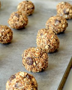3. No-Bake Dark Chocolate Coconut Almond Butter Energy Bites #healthy #almondbutter #snacks http://greatist.com/eat/almond-butter-snack-recipes
