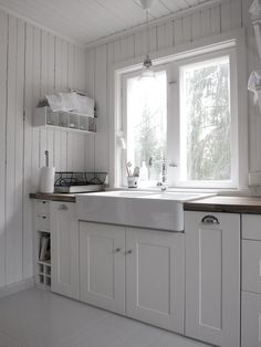 #scandinavian #scandinavianstyle #interior #whiteinterior #summerhouse #Kitchen