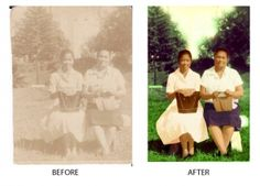 Photo Restoration (first attempt) Photo Restoration, Photoshop, Movie Posters, Movies, Films, Film Poster, Cinema, Movie, Film