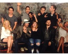 TVD Cast Picture with fans at #BMIF3 in Paris, France (05/23/15)