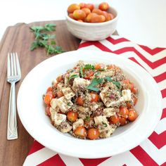 quinoa caprese salad more food recipes olive oil salads salsa caprese ...