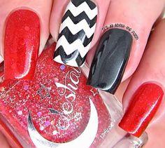 Red, White, black