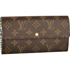 Louis Vuitton Handbags #Louis #Vuitton #Handbags - Sarah Wallet Leopard - $163.99