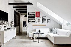 Post: Sofá de esquina --> blog decoración nórdica, decoración de áticos, decoración de salones, decoración pisos pequeños, muebles par el salón, sofá de esquina, sofas sillones chaise longue