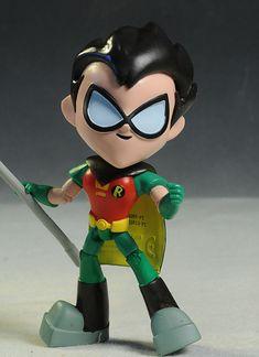 Teen Titans Go! Robin & Cyborg figures by Jazwares