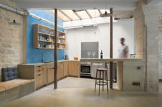 Loft in Paris by Maxime Jansens - CAANdesign | Architecture and home design blog
