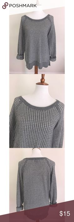 Nordstrom oversized sweater - Size L. So cute, comfy and cozy for the fall/winter seasons. Looks great with leggings, boots and a scarf. Oversized.  - I don't trade or sell outside of posh. - I ship every single day!  - All items come from a smoke free home!  - If you have anymore questions just let me know and I would be happy to help! 🙂 Nordstrom Sweaters Crew & Scoop Necks