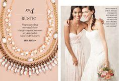 Style Me Pretty + BaubleBar - picks for a Rustic Wedding #bbweddings #stylemepretty