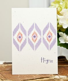 Hey There Card by Ashley Cannon Newell for Papertrey Ink (February 2013)