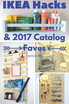 Anyone Have an IKEA Obsession? We are Here to Feedit…IKEA Hacks To Getting Organized