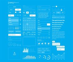 """Check out this @Behance project: """"Blueprint Mobile UI Kit"""" https://www.behance.net/gallery/43662679/Blueprint-Mobile-UI-Kit"""
