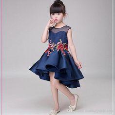 2017 New Cheap Lace Flower Girls Dresses For Weddings A Line Kids Little  Girls Pageant Dress 48fcb646176a