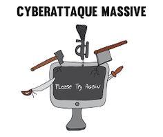 """Résultat de recherche d'images pour """"cyberattaque dessin"""""""