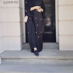 Once you own an abaya with pockets it will be hard to wear one without. One of our best sellers is Themanya; stylish and functional, and those pockets can carry quite a lot!