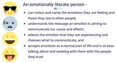 What is Emotional Literacy? Cause And Effect, Speech And Language, Literacy, Content, Messages, Feelings, Homeschooling, Google, Image